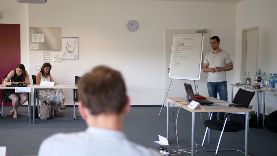YouTube Workshop als Teil einer Social Media Schulung von ER Solutions.